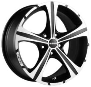 Momo Black Knight 7,5x17 4x100 ET 35 Dia 72,3 (Black) черный