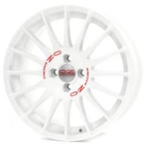 OZ Racing Superturismo WRC 7.0x16 4x114,3 ET42 ЦО75.0 WHITE RED LETTERING