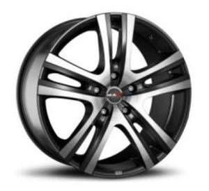 MAK Aria 7.5x17 5x118 ET45 ЦО71.1 Gun Metallic-Mirror Face